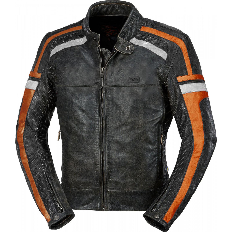 9d2a6815d37b ATA HD Riverside leather mc skinnjacka - Sharkspeed