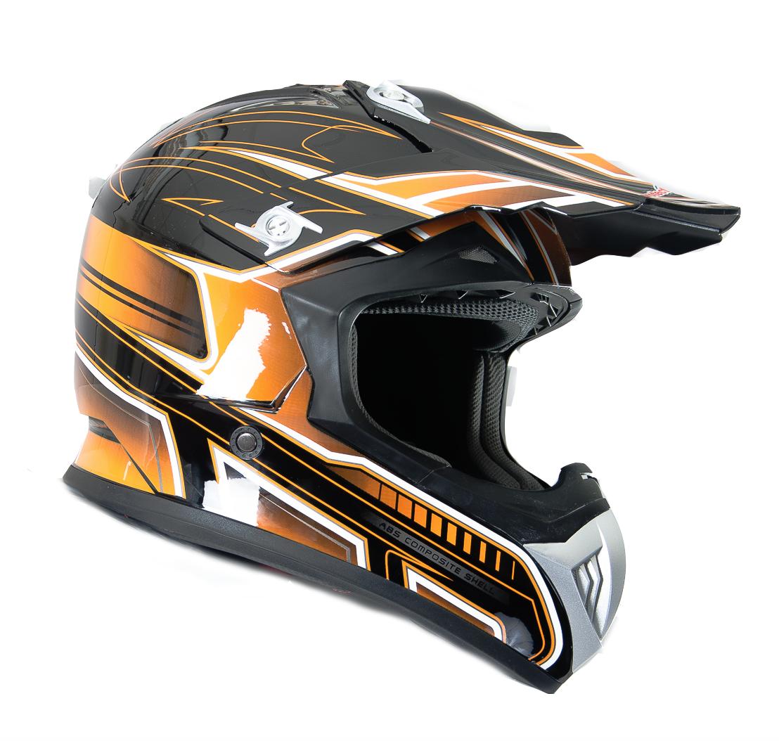 FS 603 Orange Cross hjälm - Sharkspeed 408c24ee59f20