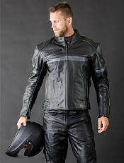 Raiden Leather mc skinnjacka 009881