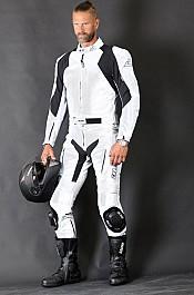 Rider 2-delat skinnstall WHITE 5017