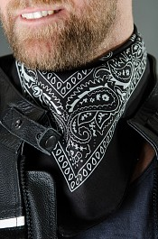 Scarf Black bandana
