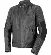 ATA BIKERTONE BLACK LEATHER MC JACKA  1501