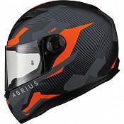 AGRIUS Rage Tracker Matt Orange 51010-3003 mc hjälm
