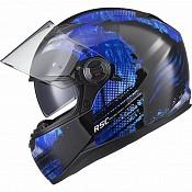 AGR Rage SV Claw Blue 51017-0303 mc hjälm
