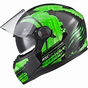 AGR Rage SV Claw Green 51017-0303 mc hjälm