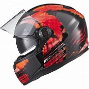 AGR Rage SV Claw Red 51017-0303 mc hjälm