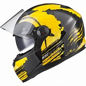 AGRIUS Rage SV Claw Yellow 51017-0303 mc hjälm