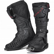 BLACK MX Enigma Black Motocross Boots (CE Level 2 Certified) 5225 cross stövlar