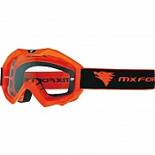 MX Force Magen Solid Motocross 14336-1900 Orange Goggles