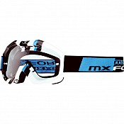 MX Force Magen Cube Motocross 143381000 White Goggles
