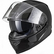 IMFRI BLK Titan SV Solid Motorcycle BLACK BLANK SOLVISIR 51720103 MC HJÄLM