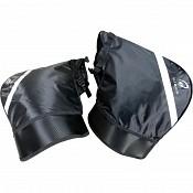 Black Meta Motorcycle Bar Muffs windproof 5126 handvärmare
