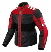 ATA ROADWAY COMBO 365 TOURING RED/BLACK  ALLVÄDER MC JACKA