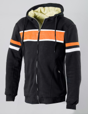 ATA KEVLAR ORGINAL RETRO HOODIE HD mc tröja   KRH-76