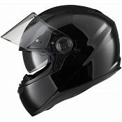 AGRIUS Rage SV Solid Black Gloss 1503 mc hjälm