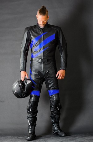 2-delat skinnstall Blue Roadies 5015