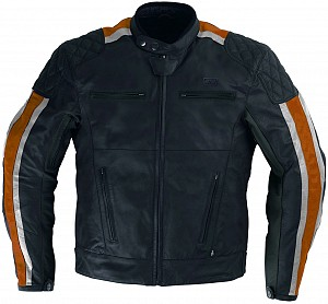 ATA LOWRIDER ORANGE HD LEATHER MC JACKA 1441