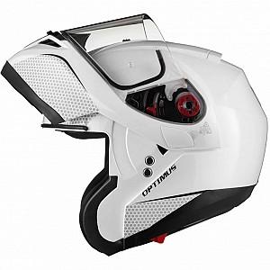 BLK Optimus SV Flip Front Solvisir White 13229