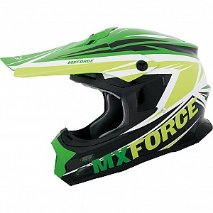 MX Force Race Nep 143460704 Green cross hjälm
