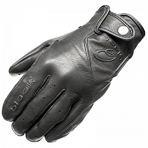 BLK Static Leather Motorcycle 51030106 MC HANDSKAR