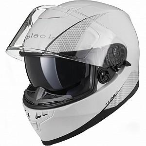 IMFRI BLK Titan SV Solid Motorcycle WHITE SOLVISIR 51723003 MC HJÄLM
