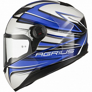 AGRIUS RAGE CHARGER BLUE 510110303 INTEGRAL MC HJÄLM