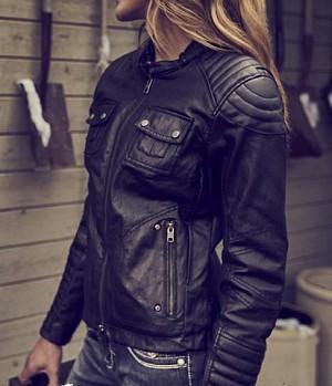 ATA Lady Femme Custom skinn mc jacka