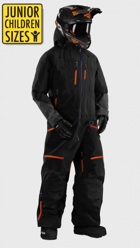 JUNIOR / KID SNOWPEAK ORANGE OVERALL ATV/SNOWMOBILE CE ALLVÄDERSSTÄLL   JSO-450
