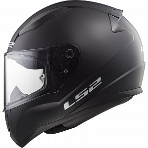 JUNIOR LS2 FF353J Rapid Mini Solid Youth MATT BLACK 3504 Motorcycle