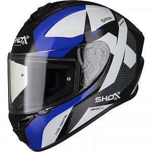 SHOX SNIPER EVO SHARPE BLUE 0303 MC HJÄLM