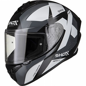 SHOX SNIPER EVO SHARPE BLACK 1303 MC HJÄLM