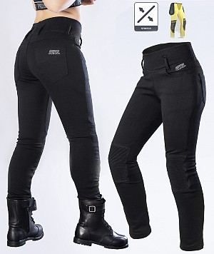 LADY KEVLAR LEGGINGS BIKER MC BYXA