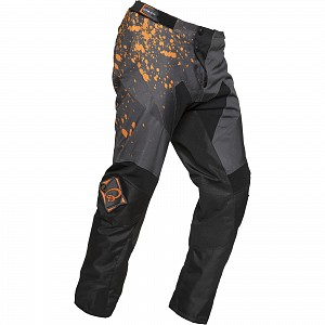 Black MX Splat Motocross Orange 1904 crossbyxa