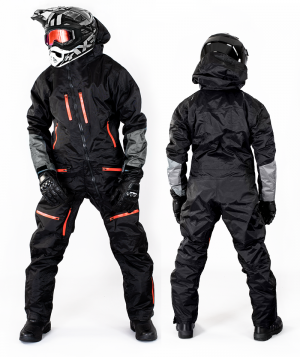 LADY SNOWPEAK ORANGE OVERALL ATV/SNOWMOBILE CE ALLVÄDERSSTÄLL   LSP 9801