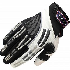 Black Claw Motocross Gloves WHITE 5234-1006 Motocross HANDSKAR