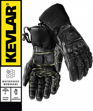 KEVLAR WATERPROOF BLACKOPS LONG KEVLAR PRO mc handskar