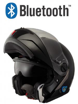 V270 Bluetooth Blank mc hjälm