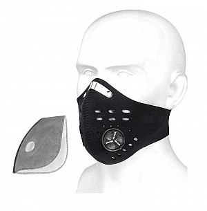 FACEMASK IRON VENT NEOPREN WASHABLE ANSIKTSMASK