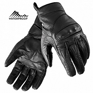ARTERY BLACK TOURING VINTAGE WATERPROOF MC HANDSKAR