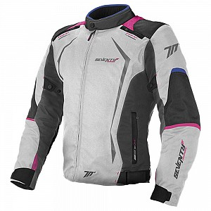 LADY SD-JR49 ICE/BLUE/PINK SEVENTY DEGREES WATERPROOF MC JACKA