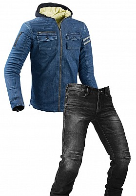 DENIM PROTECTION JEANS MC PAKET